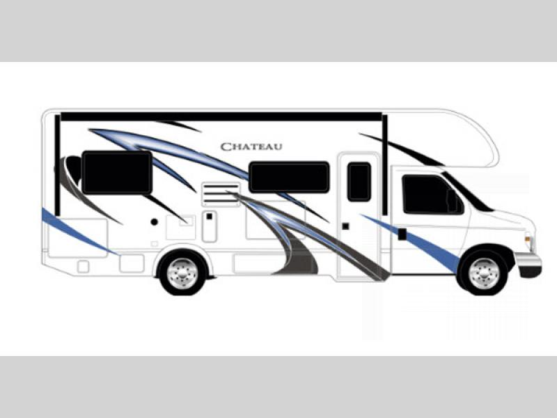 chateau motor home class c