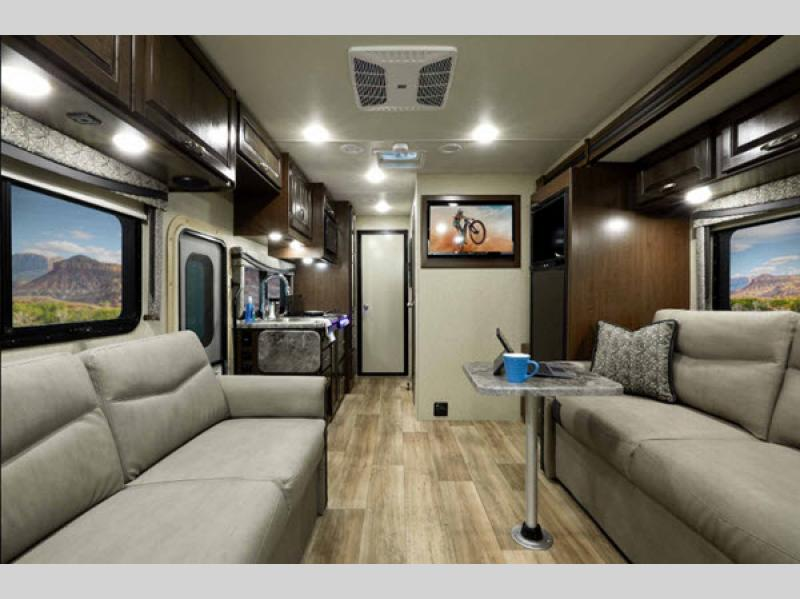 Prime Thor Motor Coach Outlaw Motor Home Class C Toy Hauler Rvs Ocoug Best Dining Table And Chair Ideas Images Ocougorg