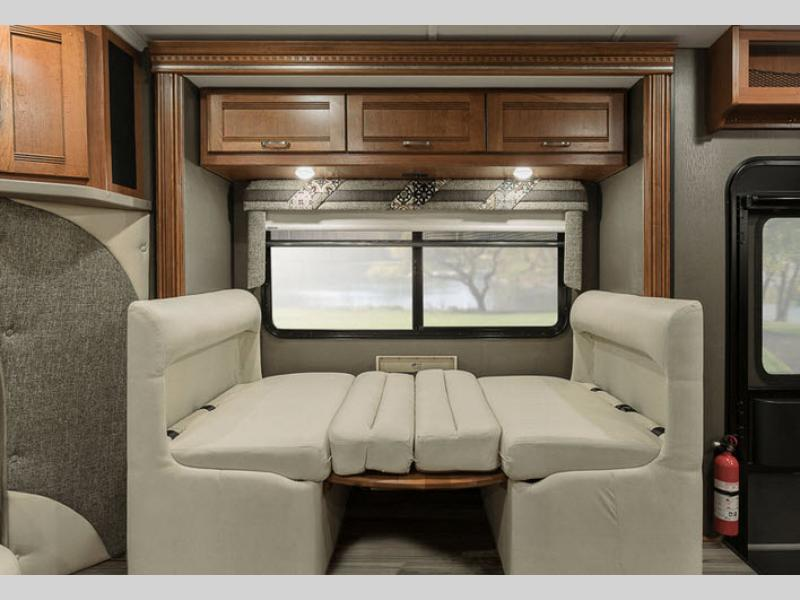 Cambria motor home class c rv sales 2 floorplans - Class a motorhomes with rear bathroom ...