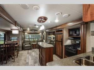 Outside - 2019 North Trail 32RETS King Travel Trailer