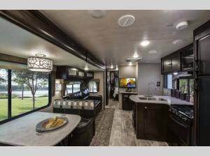 Inside - 2019 North Trail 33BUDS King Travel Trailer