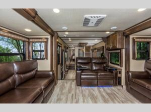 Inside - 2020 Solitude 374TH R Toy Hauler Fifth Wheel