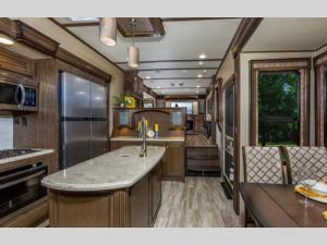 Inside - 2020 Solitude 374TH Toy Hauler Fifth Wheel