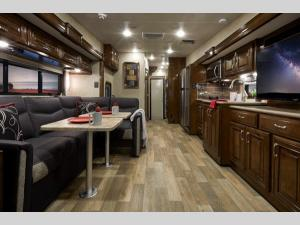 Outside - 2020 Outlaw 37GP Motor Home Class A - Toy Hauler
