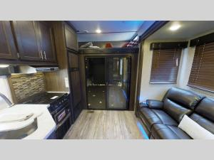 Inside - 2020 Cherokee Wolf Pack 295PACK13 Toy Hauler Fifth Wheel