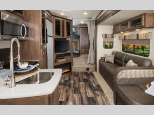 Outside - 2020 Sandpiper HT 3275DBOK Fifth Wheel