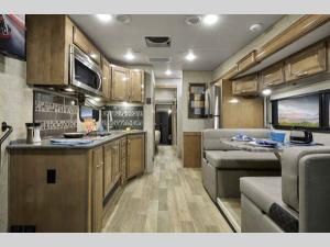 Outside - 2020 Outlaw 37RB Motor Home Class A - Toy Hauler