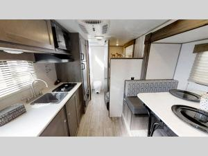 Inside - 2020 Clipper Ultra-Lite 17BHS Travel Trailer