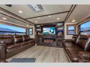 Outside - 2020 Momentum 376TH Toy Hauler Fifth Wheel