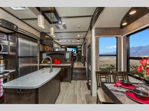 Inside - 2020 Momentum 376TH Toy Hauler Fifth Wheel