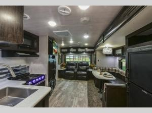 Inside - 2020 North Trail 25LRSS Travel Trailer