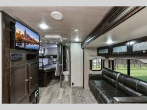 Inside - 2020 North Trail 29BHP Travel Trailer