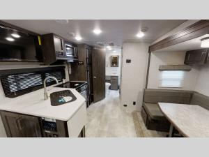 Outside - 2022 Flagstaff Micro Lite 25BDS Travel Trailer