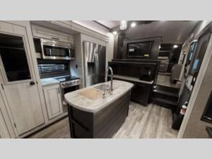Outside - 2020 North Point 385THWS Toy Hauler Fifth Wheel