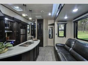Inside - 2020 Stryker STF-3513 Toy Hauler Fifth Wheel