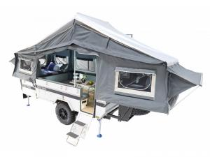 Outside - 2021 Black Series Camper Classic Double Folding Pop-Up Camper