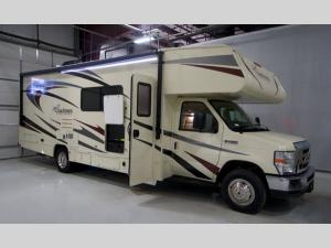 Outside - 2019 Freelander 28BH Ford 450 Motor Home Class C