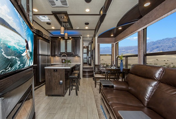 New Grand Design Momentum 397th Toy Hauler Fifth Wheel For