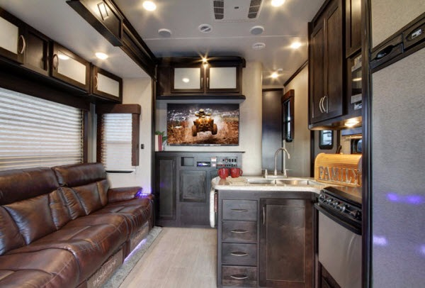 New Keystone Rv Carbon 337 Toy Hauler Fifth Wheel For Sale