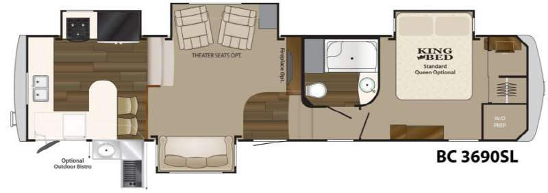 Used 2013 Heartland Big Country 3690SL Fifth Wheel at Wilkins RV ...