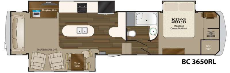 Used 2014 Heartland Big Country 3650rl Fifth Wheel At Wilkins Rv Victor Ny 32234