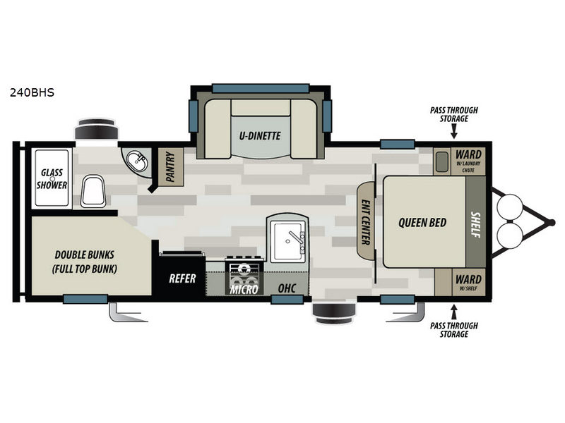 New 2018 Forest River Rv Sonoma 240bhs Travel Trailer At