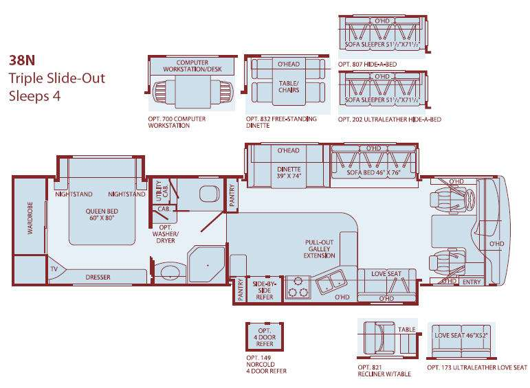 2005 fleetwood rv floor plans | flisol home on fleetwood rv diagrams,  fleetwood bounder battery fleetwood wiring