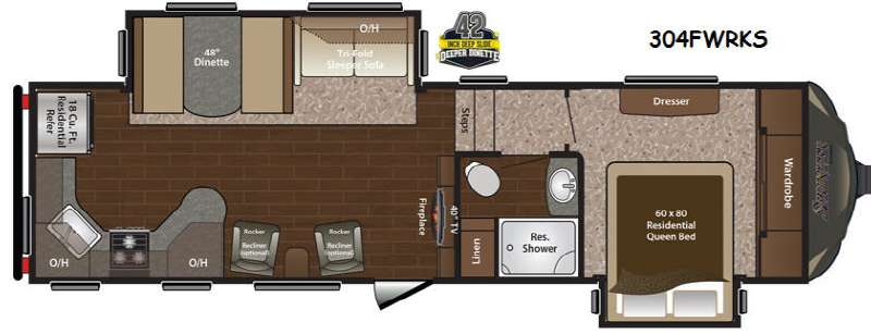 Used 2015 Keystone RV Sprinter 304RKS Fifth Wheel For Sale at Blue ...
