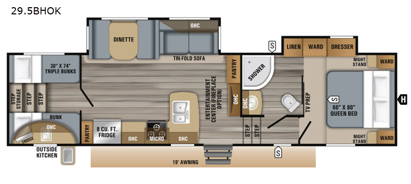 New 2019 Jayco Eagle HT 29.5BHOK Fifth Wheel at Affinity RV ... Jayco Eagle Ht Solar Wiring Diagrams on