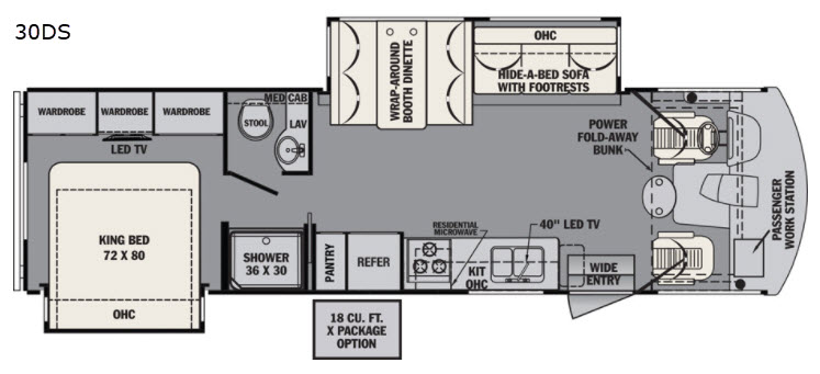 New 2018 Forest River RV FR3 30DS Motor Home Cl A at Parris RV ... Fr Forest River Wiring Diagram on north river wiring diagram, forest river service, truck trailer diagram, forest river voltage, forest river accessories, forest river plumbing diagram,