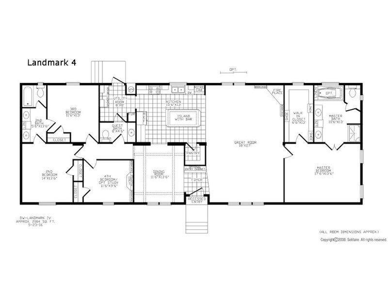 unit_tech_drawing_20170721110641251343175 new 2017 solitaire homes double section landmark 4 double section,Solitaire Homes Floor Plans