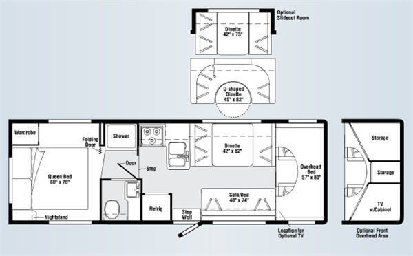 Used 2008 Itasca Impulse 29t Motor Home Class C At Parkway