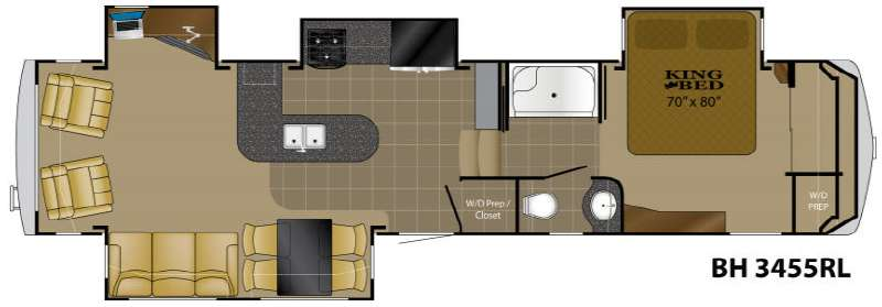 Used 2012 Heartland Bighorn 3455rl Fifth Wheel At Western