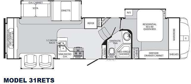 Used 2012 Palomino Sabre 31rets Fifth Wheel At Collier Rv