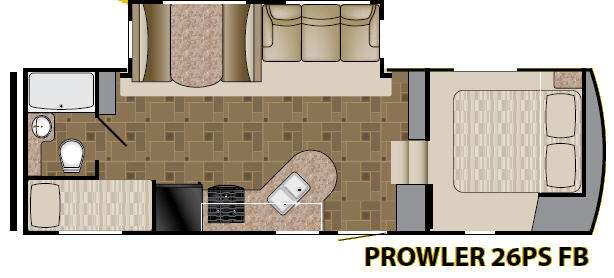 Used 2012 Fleetwood Rv Prowler 26psfb Fifth Wheel At