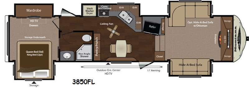 Used 2014 Keystone RV Montana 3850 FL Fifth Wheel At Collier
