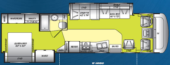 Used 2006 Fleetwood Rv Terra Lx 34n Motor Home Class A At