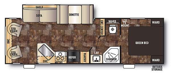 New 2014 Forest River Rv Cherokee 26 Rl Travel Trailer At