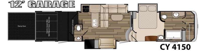New 2015 Heartland Cyclone 4150 Fifth Wheel At Dick Gore S