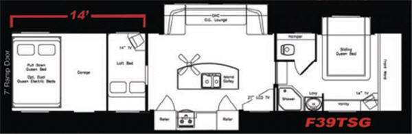 Floorplan - 2008 Eclipse Attitude F39TSG