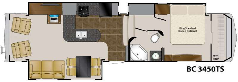 Floorplan - 2011 Heartland Big Country 3450 TS
