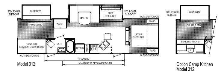 Floorplan - 2013 Skyline Nomad Joey Select 312