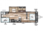 New 2019 Forest River RV Wildwood 28DBUD Photo
