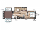New 2019 Forest River RV Wildwood 31KQBTS Photo