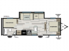 New 2019 Forest River RV Salem Cruise Lite 263BHXL Photo