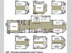 Floorplan - 2013 Forest River RV Cherokee 39P