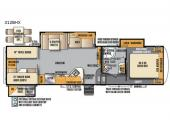 Floorplan - 2017 Forest River RV Wildcat Maxx 312BHX