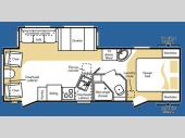 Floorplan - 2008 Keystone RV Cougar 268RLS