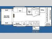 Floorplan - 2008 Keystone RV Outback 18RS