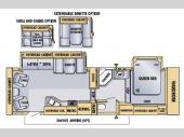 Floorplan - 2005 Jayco Eagle 301 RLS